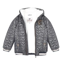 Vêtements Fille Blousons Chipie 8R41014-46 Gris