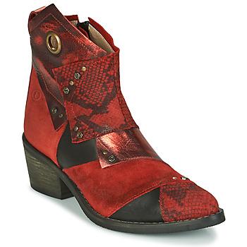 Chaussures Femme Bottines Casta DEMA Rouge