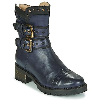 Chaussures Femme Bottines Casta MERITA Bleu / Noir