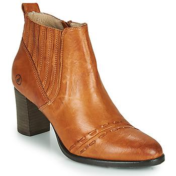 Chaussures Femme Bottines Casta SANTA Cognac