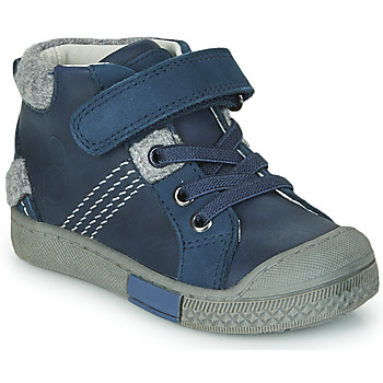 Chaussures Garçon Baskets montantes Mod'8 HERY Marine