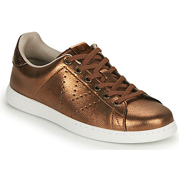 Chaussures Femme Baskets basses Victoria TENIS METALIZADO Bronze