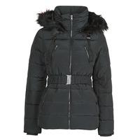 Vêtements Femme Parkas Naf Naf BU-CHOUPINOU COURT Noir