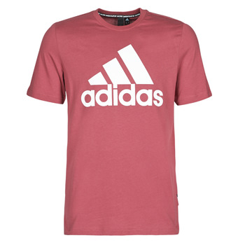 Vêtements Homme T-shirts manches courtes adidas Performance MH BOS Tee rouge heritage