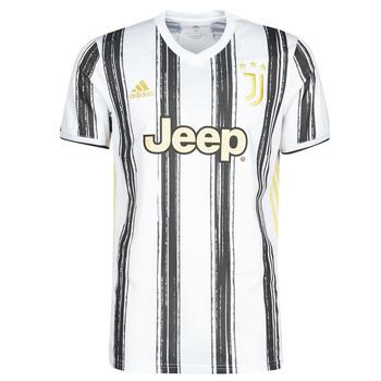 Vêtements T-shirts manches courtes adidas Performance JUVE H JSY BLANC/NOIR