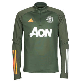 Vêtements T-shirts manches longues adidas Performance MUFC TR TOP TERLEG