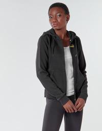 Vêtements Femme Vestes de survêtement Puma METALLIC FZ HOODY TR Noir / Or