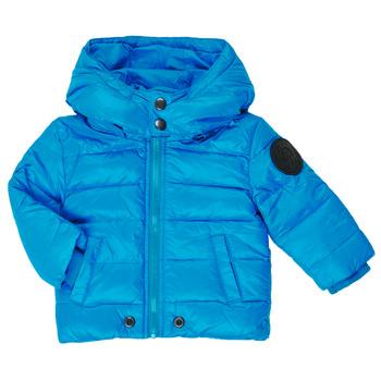 Vêtements Garçon Doudounes Diesel JSMITHYAWH Bleu