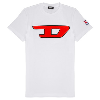 Vêtements Enfant T-shirts manches courtes Diesel TJUSTDIVISION Blanc