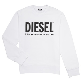 Vêtements Garçon Sweats Diesel SCREWDIVISION LOGO Blanc