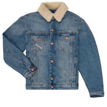 Vêtements Garçon Vestes en jean Diesel JRESKY Bleu