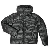 Vêtements Garçon Doudounes Diesel JSMITHYAWH Noir