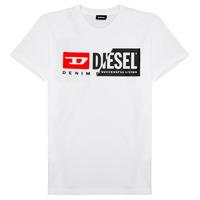 Vêtements Enfant T-shirts manches courtes Diesel TDIEGOCUTY Blanc