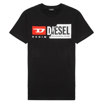 Vêtements Enfant T-shirts manches courtes Diesel TDIEGOCUTY Noir