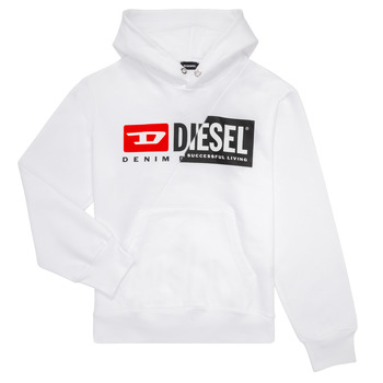 Vêtements Enfant Sweats Diesel SGIRKHOODCUTY Blanc