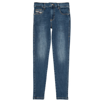 Vêtements Fille Jeans slim Diesel D-SLANDY HIGH Bleu