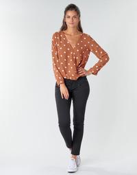 Vêtements Femme Pantalons 5 poches Freeman T.Porter ALEXA CROPPED S-SDM Noir