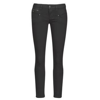 Vêtements Femme Jeans slim Freeman T.Porter ALEXA CROPPED S-SDM Noir