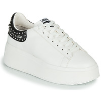 Chaussures Femme Baskets basses Ash MOBY STUDS White / Black