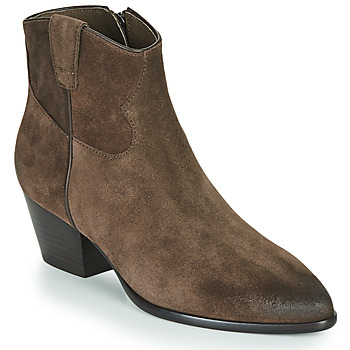 Chaussures Femme Bottines Ash HOUSTON Brown
