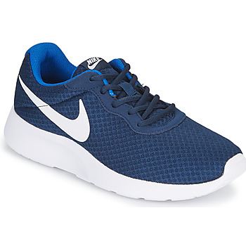 Chaussures Homme Baskets basses Nike TANJUN Bleu / Blanc