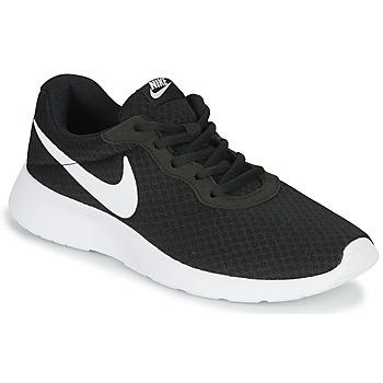 Chaussures Femme Baskets basses Nike TANJUN Noir / Blanc