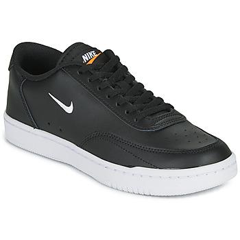 Chaussures Femme Baskets basses Nike COURT VINTAGE Noir / Blanc