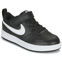 Chaussures Enfant Baskets basses Nike COURT BOROUGH LOW 2 PS Noir / Blanc