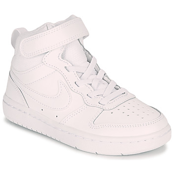 Chaussures Enfant Baskets montantes Nike COURT BOROUGH MID 2 PS Blanc