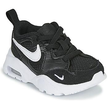 Chaussures Enfant Baskets basses Nike AIR MAX FUSION TD Noir / Blanc