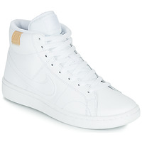 Chaussures Femme Baskets basses Nike COURT ROYALE 2 MID Blanc