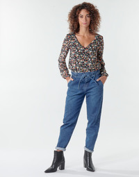 Vêtements Femme Pantalons 5 poches One Step FR29091_46 Bleu