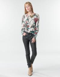 Vêtements Femme Pantalons 5 poches One Step FR29031_02 Noir