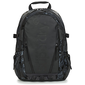 Sacs Sacs à dos Superdry HARBOUR TARP BACKPACK Noir