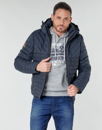 Vêtements Homme Doudounes Superdry TWEED MIX FUJI Bleu