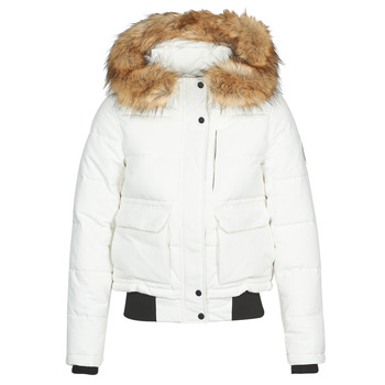 Vêtements Femme Doudounes Superdry EVEREST BOMBER Blanc