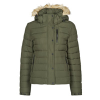 Vêtements Femme Doudounes Superdry CLASSIC FAUX FUR FUJI JACKET Dark Moss