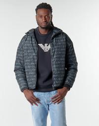 Vêtements Homme Blousons Emporio Armani 6H1BN6 Noir