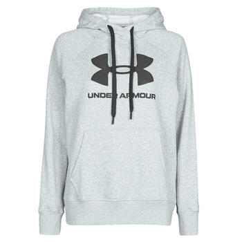 Vêtements Femme Sweats Under Armour RIVAL FLEECE LOGO Gris