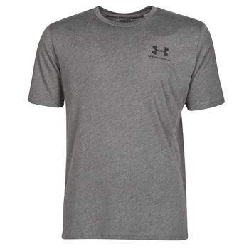 Vêtements Homme T-shirts manches courtes Under Armour SPORTSTYLE LEFT CHEST SS Gris