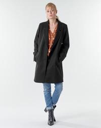 Vêtements Femme Manteaux Esprit LL* BASICBLZRCT Noir