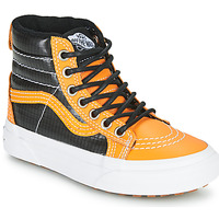 Chaussures Garçon Baskets montantes Vans SK8-HI MTE Camel / Noir