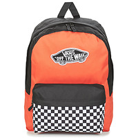 Sacs Femme Sacs à dos Vans REALM BACKPACK Orange