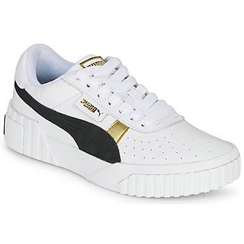 Chaussures Femme Baskets basses Puma CALI VARSITY Blanc / Noir