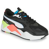 Chaussures Baskets basses Puma RS-X3 Noir / Blanc / Corail