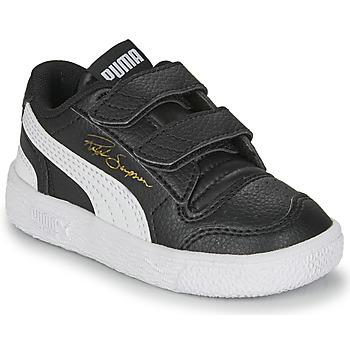 Chaussures Enfant Baskets basses Puma RALPH SAMPSON LO INF Noir / Blanc