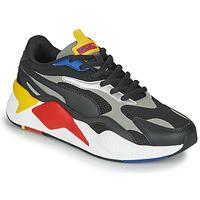 Chaussures Baskets basses Puma RS-X3 Noir / Rouge / Jaune