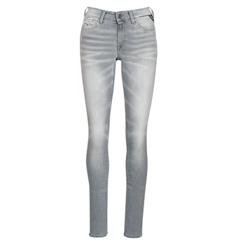 Vêtements Femme Jeans slim Replay LUZ / HYPERFLEX Gris