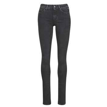 Vêtements Femme Jeans slim Replay LUZ / HYPERFLEX / RE-USED Noir