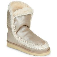 Chaussures Femme Boots Mou ESKIMO 24 Doré